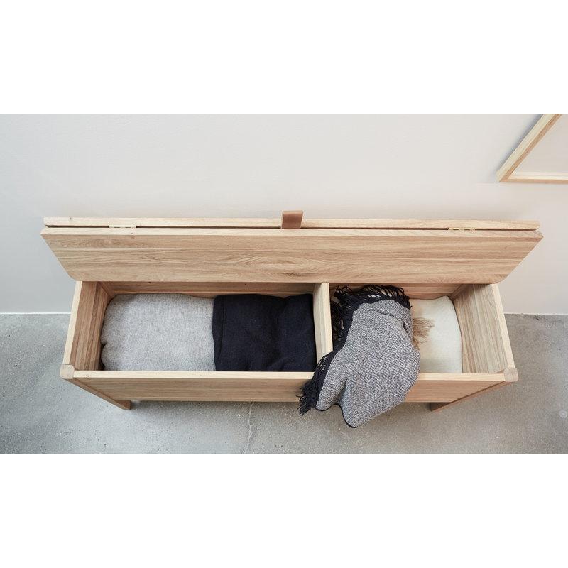 Awe Inspiring Form Refine A Line Storage Bench Oak Finnish Design Shop Short Links Chair Design For Home Short Linksinfo