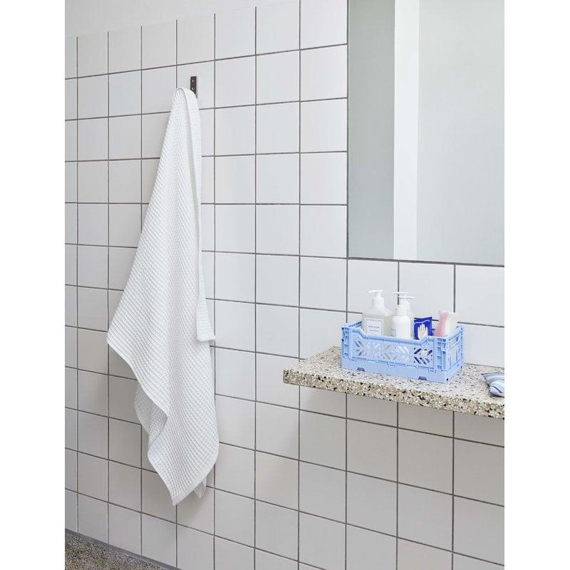 Hay Giant Waffle Bath Towel White