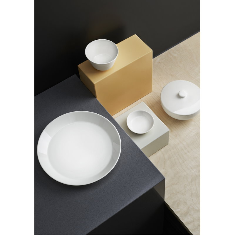 iittala teema plate 26 cm white finnish design shop. Black Bedroom Furniture Sets. Home Design Ideas