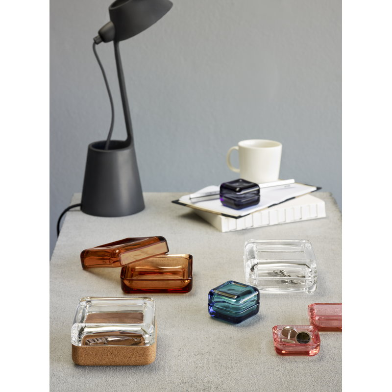 iittala vitriini box 60 x 60 mm grey finnish design shop. Black Bedroom Furniture Sets. Home Design Ideas
