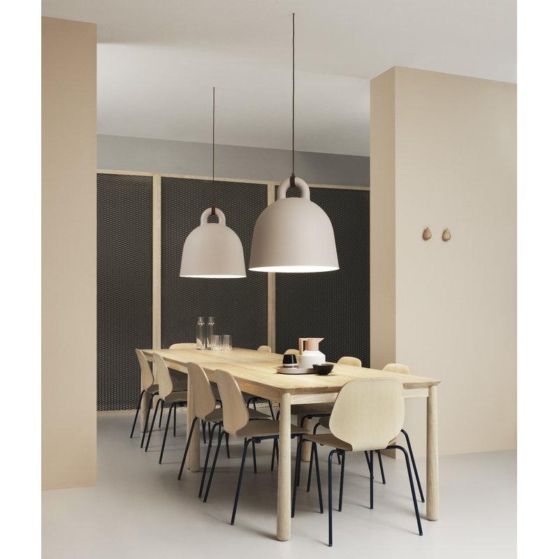 Normann Copenhagen Bell lamp L, sand | Finnish Design Shop