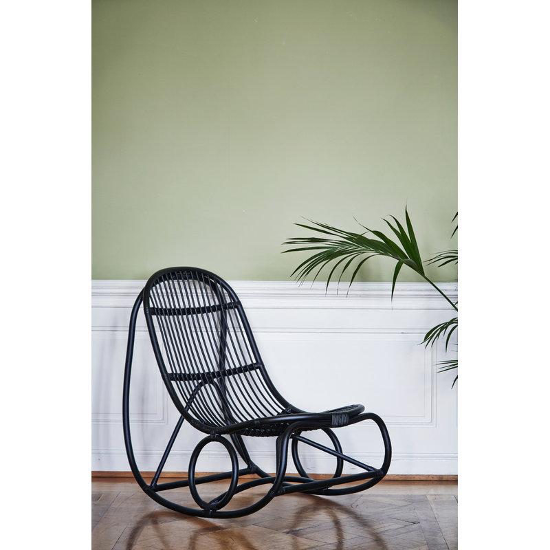 Excellent sedia a dondolo nanny nera with sedia a dondolo design - Poltrona a dondolo di design ...