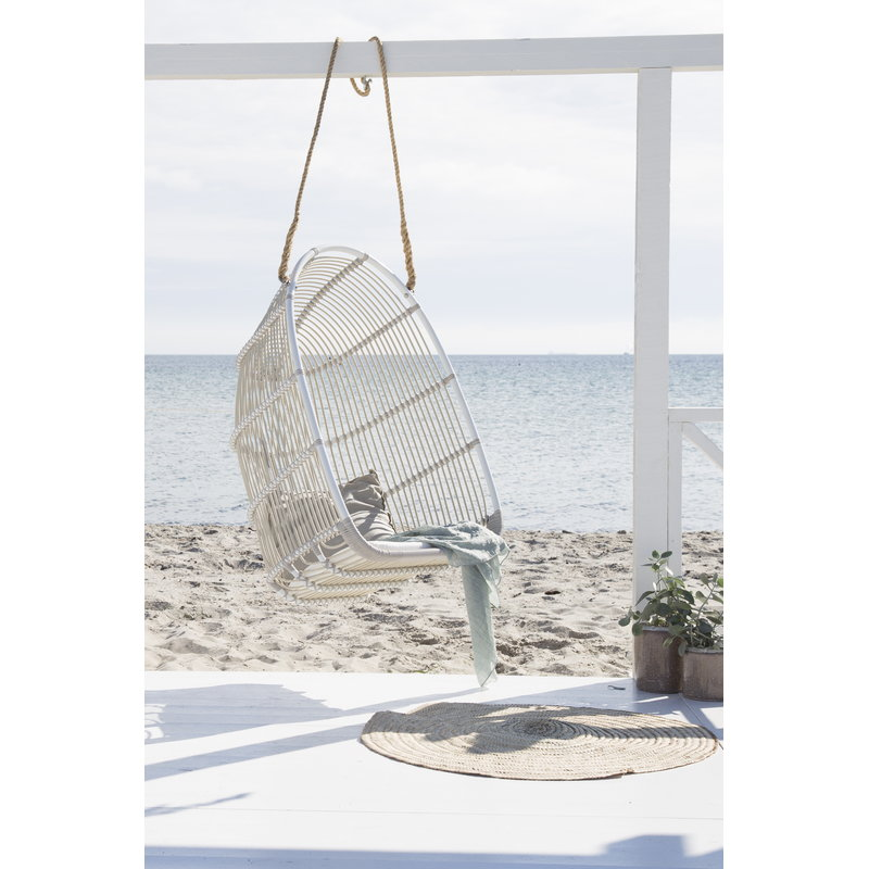 Sika Design Renoir Exterior Swing Chair With Cushion White
