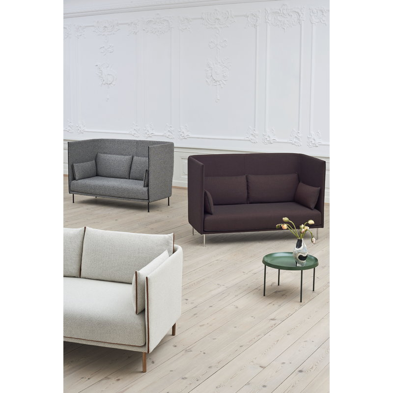Surprising Hay Silhouette Sofa 3 Seater Coda 100 Silk Cognac Oiled Pabps2019 Chair Design Images Pabps2019Com