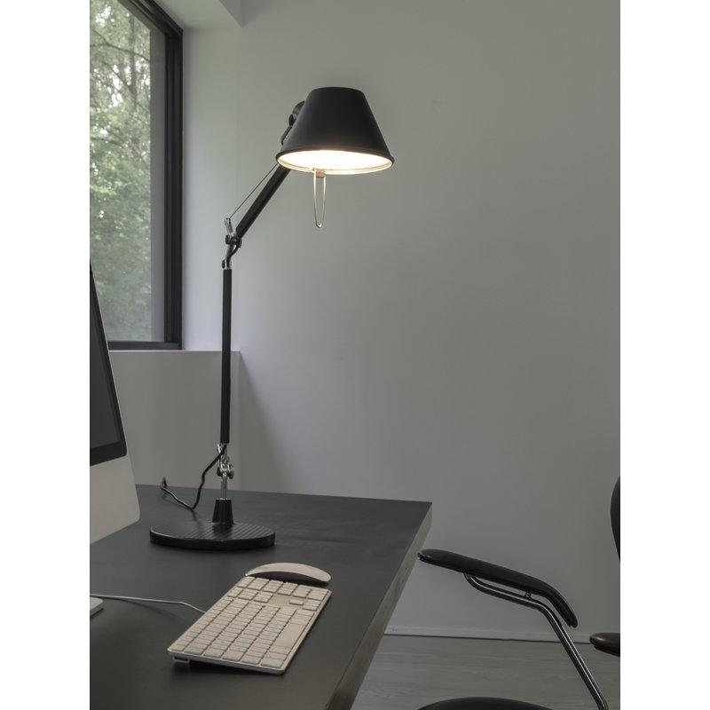 Artemide lampada da tavolo tolomeo micro nera finnish - Lampada da tavolo tolomeo ...
