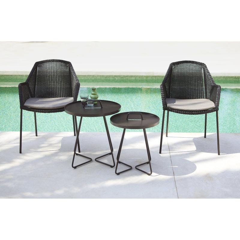 Sensational Cane Line Breeze Dining Chair Stackable Black Finnish Unemploymentrelief Wooden Chair Designs For Living Room Unemploymentrelieforg