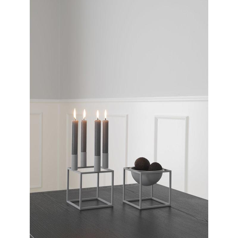by lassen kubus kulho pieni harmaa finnish design shop. Black Bedroom Furniture Sets. Home Design Ideas