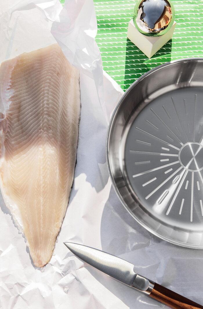Kattaus Fiskars Valerie Objects Ruskea Metalli Valkoinen Teräs Ruostumaton teräs All Steel