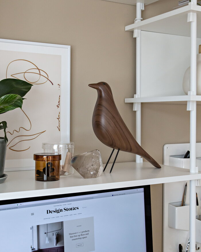 Office Vitra HAY Brown Clear Walnut Glass