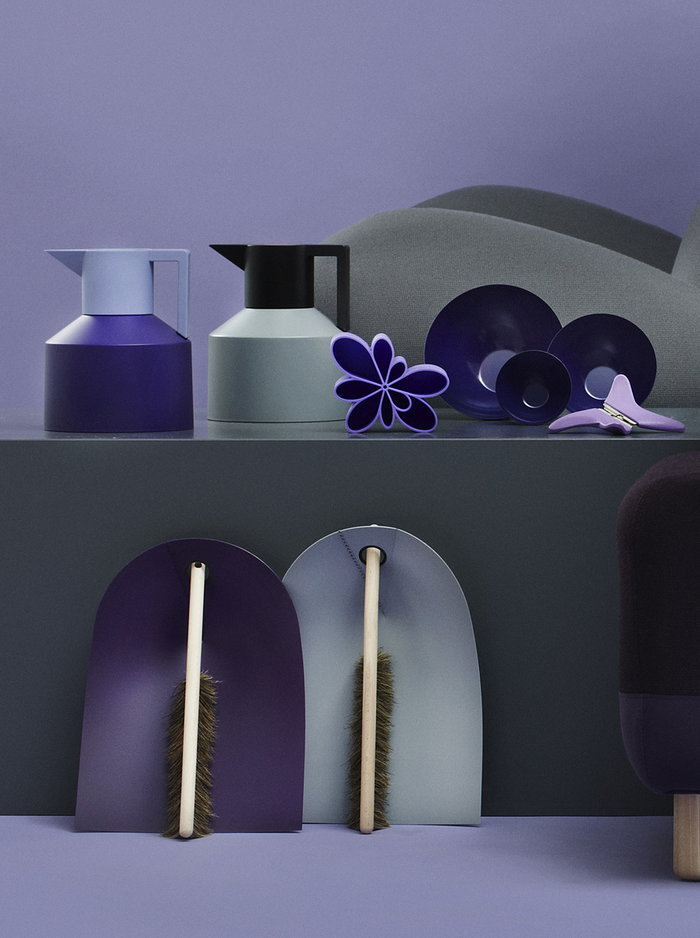 Details Normann Copenhagen Grey Mint green Purple Plastic Steel Ash Krenit Sumo