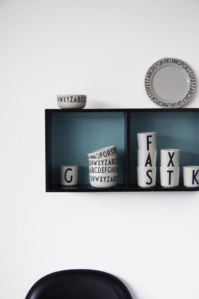 Säilytys Design Letters Valkoinen Melamiini AJ keittiö