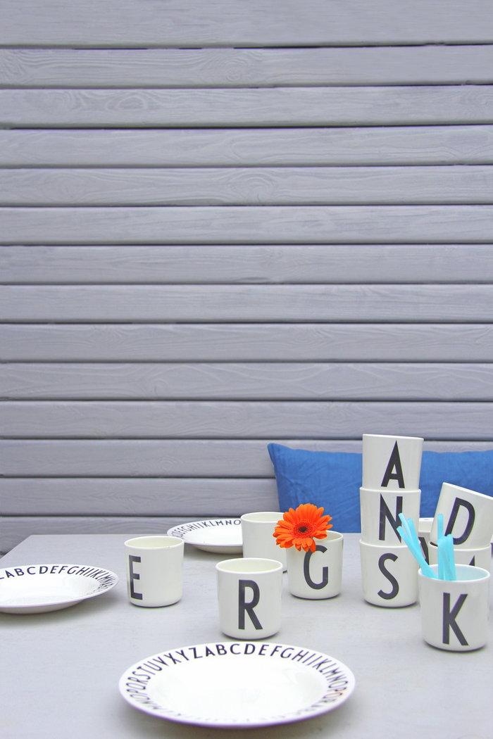 Kattaus Design Letters Valkoinen Melamiini AJ keittiö