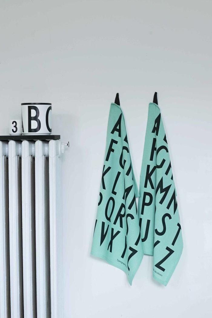 Dettaglioarredamento Design Letters Turchese Nero Bianco Cotone Legno Ceramica Cucina AJ