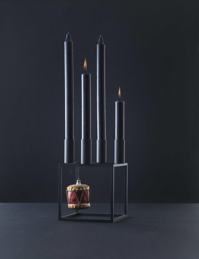 Joulu Kynttilät By Lassen Musta Kubus