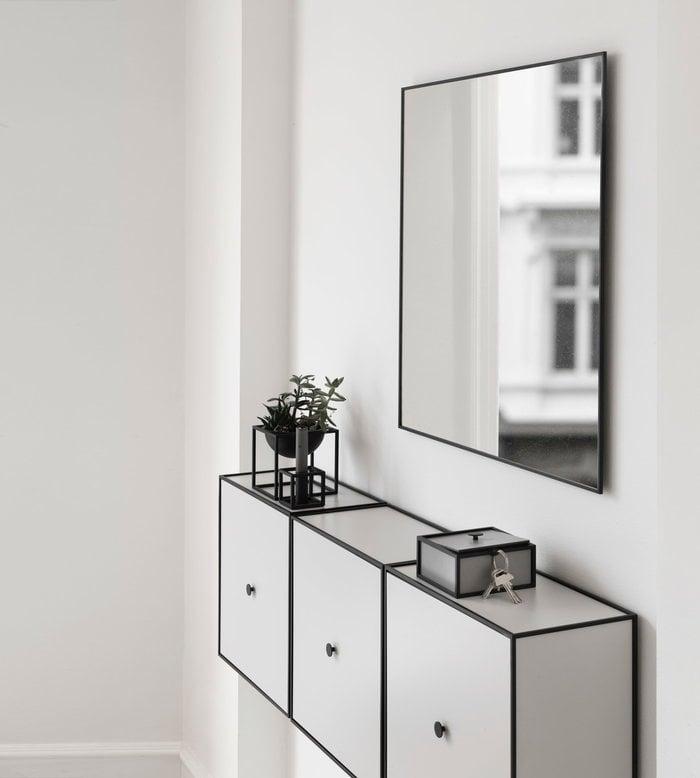 Eteinen By Lassen Musta Vihreä Harmaa Kubus View Frame