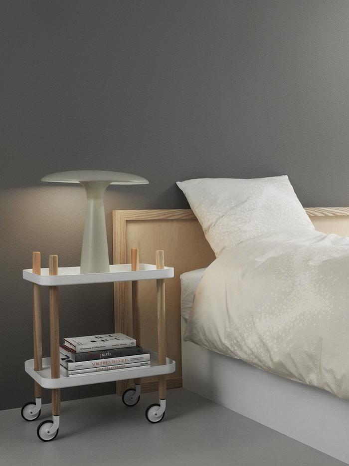 Makuuhuone Normann Copenhagen Valkoinen Saarni Block