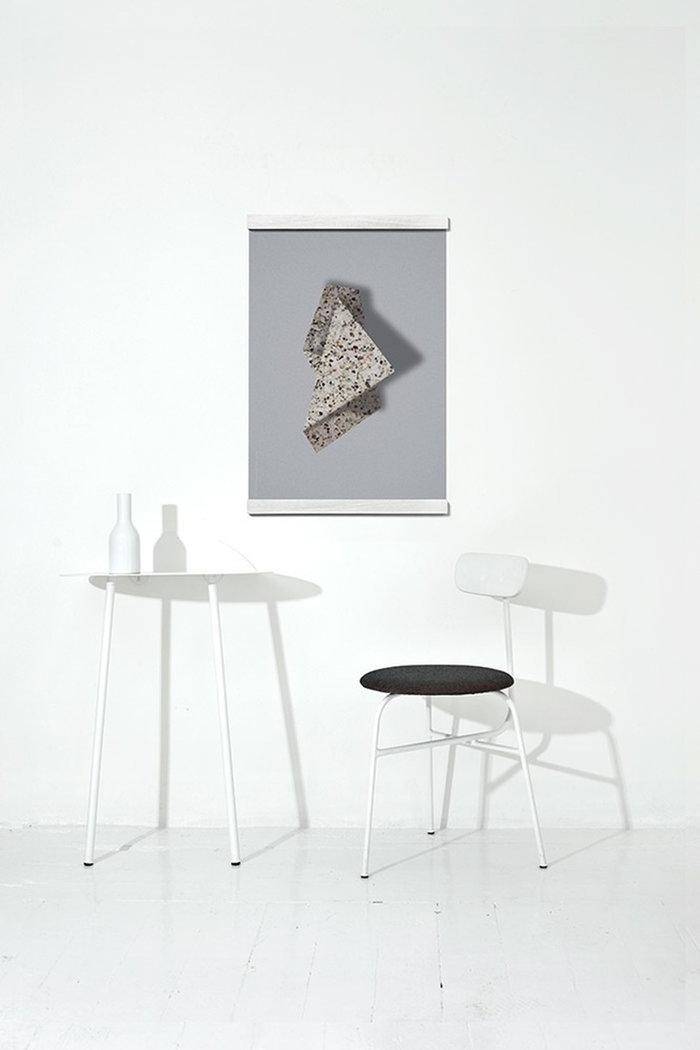 Dettaglioarredamento Poster Menu Paper Collective Bianco Grigio Acciaio Carta Afteroom Yeh Wall Poster