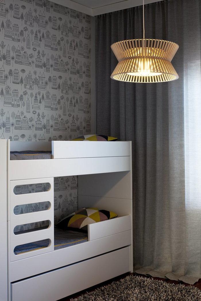 Lastenhuoneet Makuuhuone AVA Room Secto Design Luonnonväri Pähkinäpuu Kontro