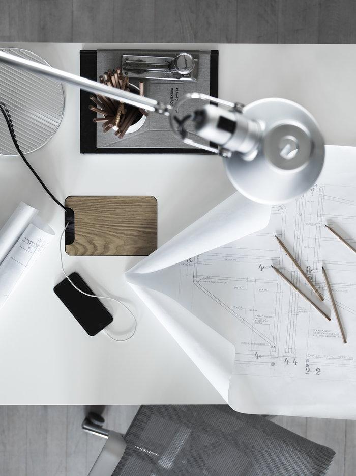 Työpisteet Artemide Harmaa Valkoinen Metalli Teräs String Works