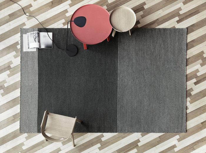 Olohuoneet Muuto Luonnonväri Harmaa Musta Tammi Alumiini Around Cover Varjo Leaf