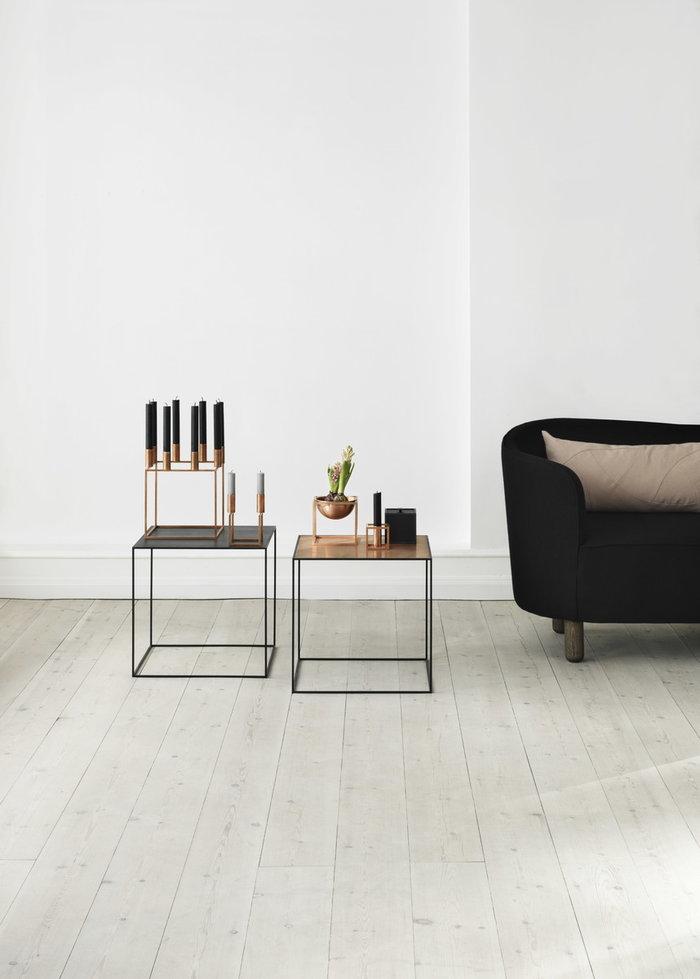 Olohuoneet By Lassen Kupari Musta Saarni Metalli Kubus Frame Twin