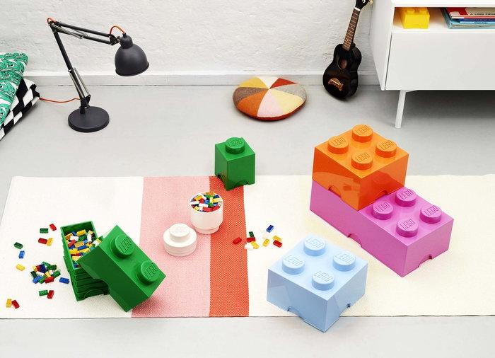 Stanzadeibambini Room Copenhagen Blu Arancione Rosa Bianco Plastica Lego