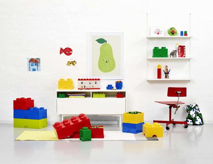 Stanzadeibambini Room Copenhagen Rosso Blu Giallo Verde Plastica Lego