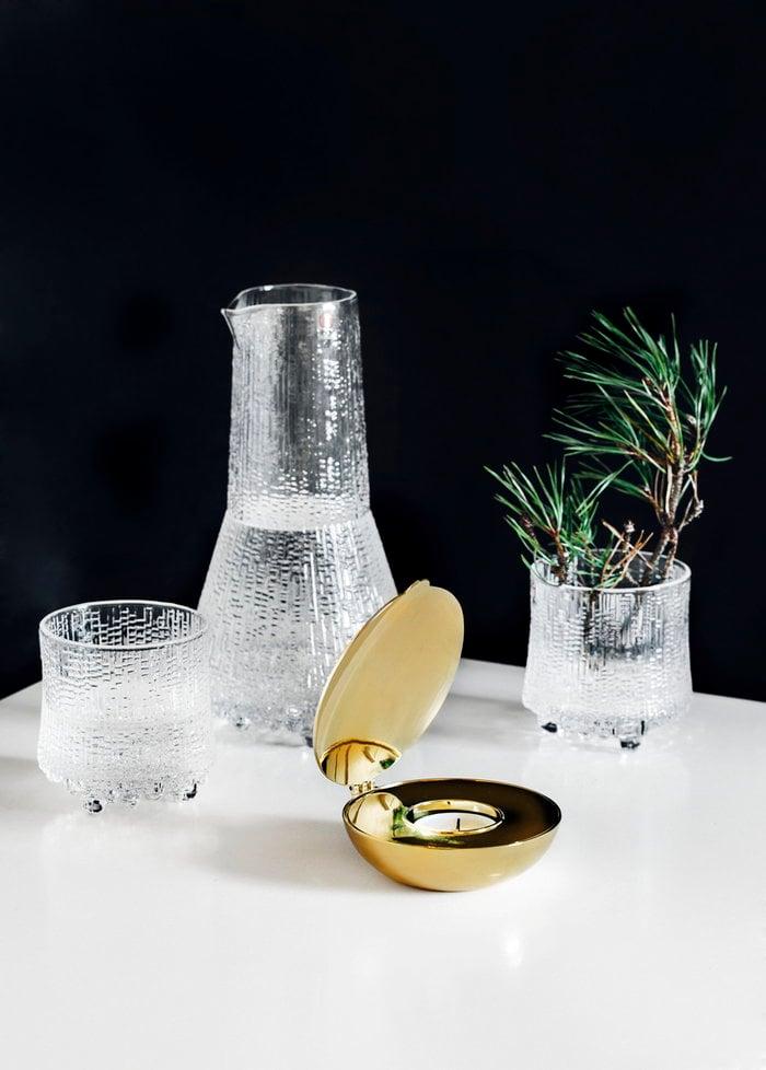 Kattaus Kynttilät Talvi Design House Stockholm Iittala Kirkas Lasi Ultima Thule