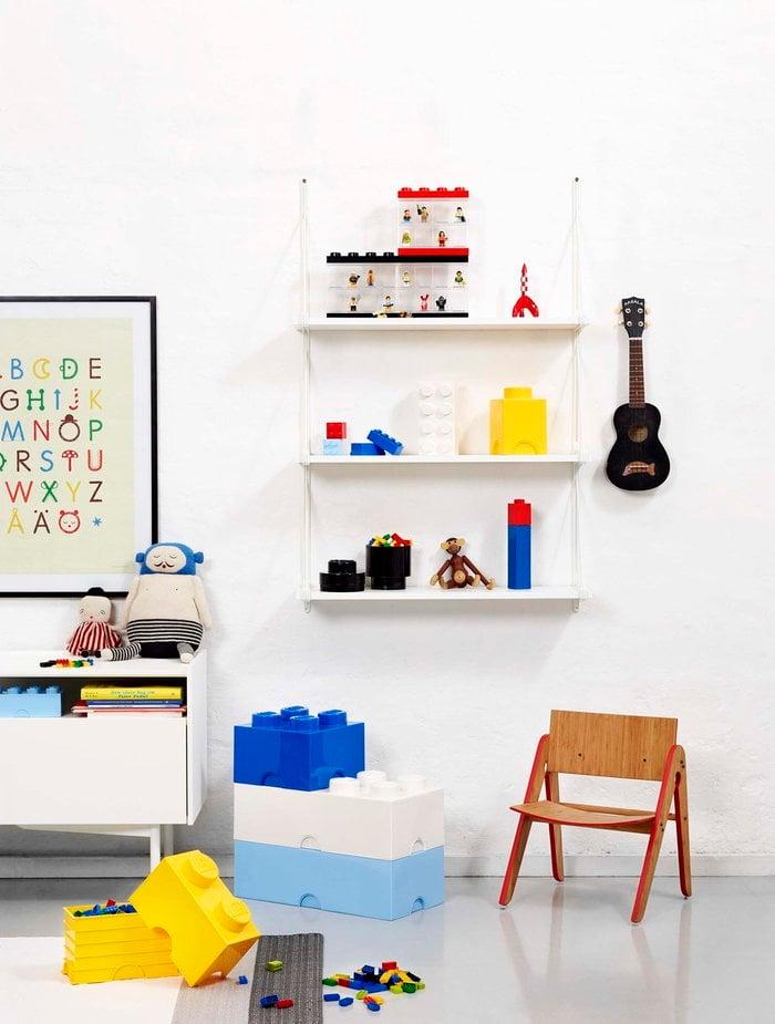 Stanzadeibambini Room Copenhagen Blu Bianco Rosso Nero Plastica Lego