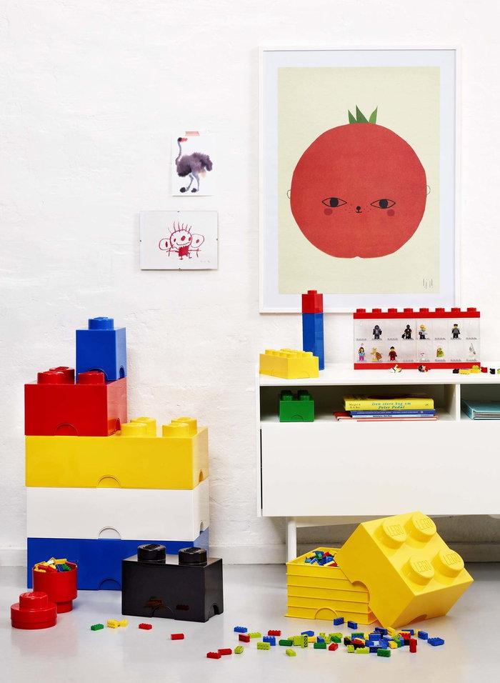 Stanzadeibambini Room Copenhagen Rosso Giallo Blu Bianco Plastica Lego