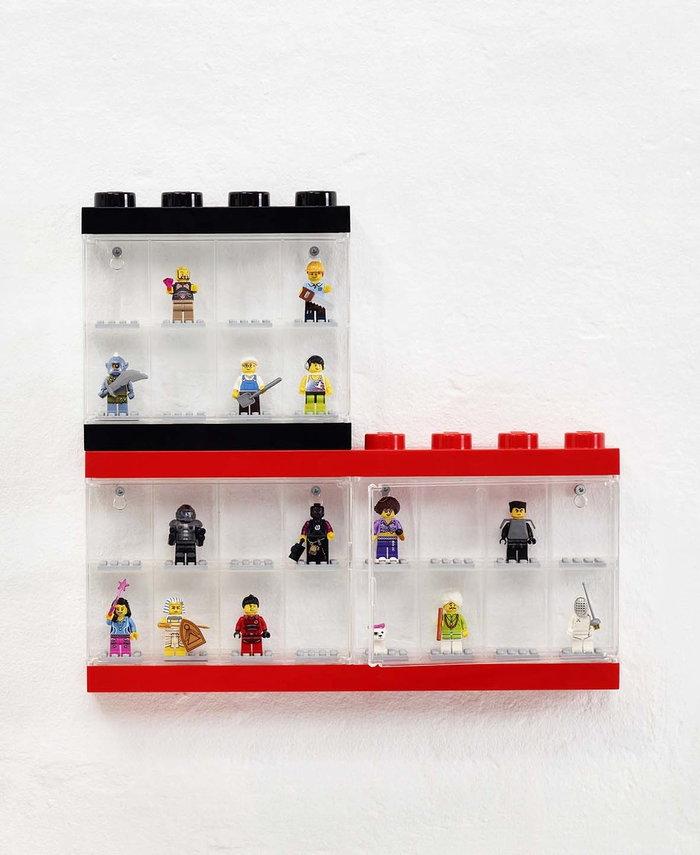 Stanzadeibambini Room Copenhagen Nero Rosso Plastica Lego