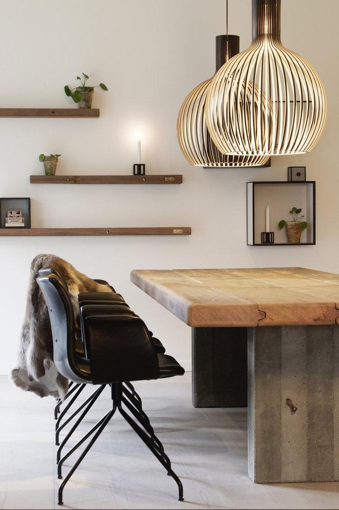Diningroom Secto Design Black Birch Octo