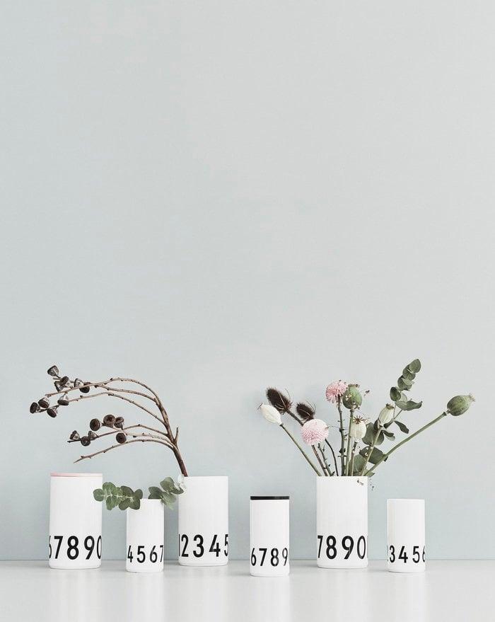 Viherkasvit Design Letters Luonnonväri Musta Puu Keramiikka AJ keittiö