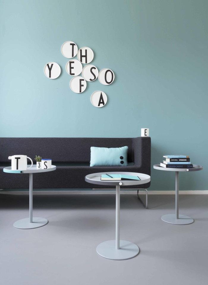 Salotti Spazipubblici Design Letters Nero Bianco Ceramica Cucina AJ