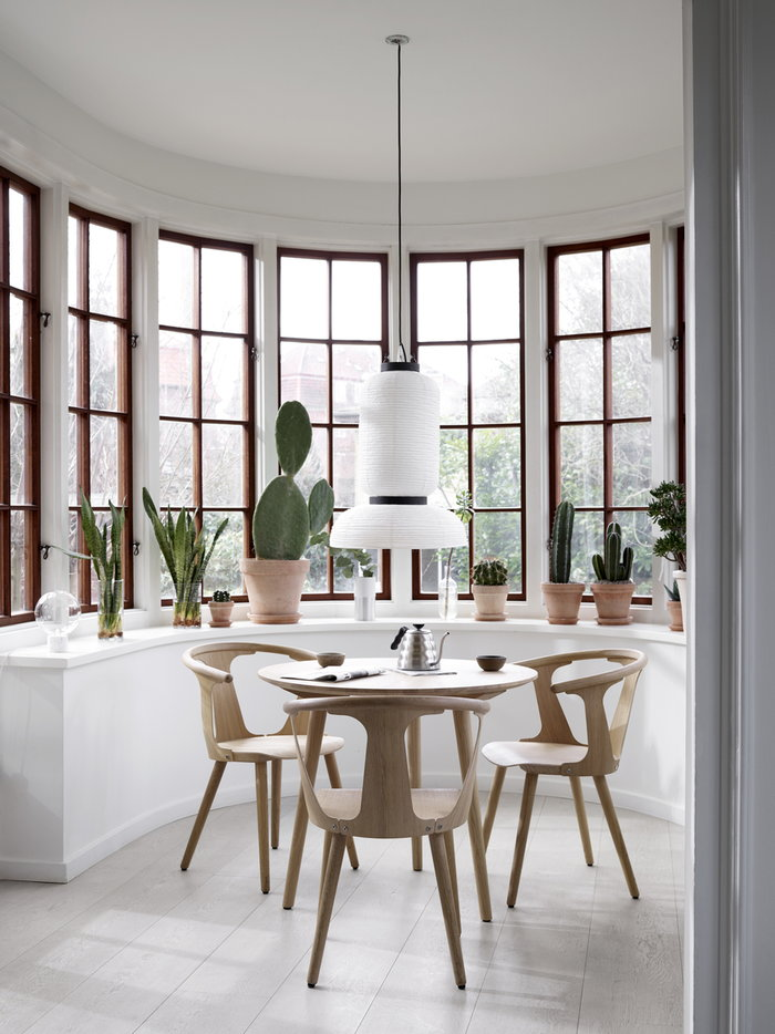 Houseplants Diningroom Summer living Hario &Tradition Metal White Stainless Steel Marble Oak Paper Marble Light In Between