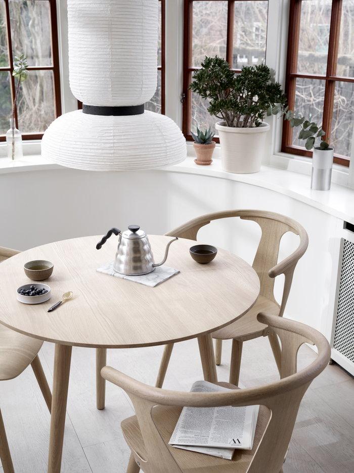 Houseplants Diningroom Summer living Hario &Tradition Metal White Stainless Steel Oak Paper In Between
