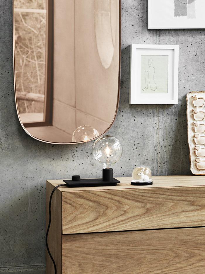 Dettaglioarredamento Casa estiva Muuto Naturale Rosa Nero Rovete Vetro Alluminio Reflect