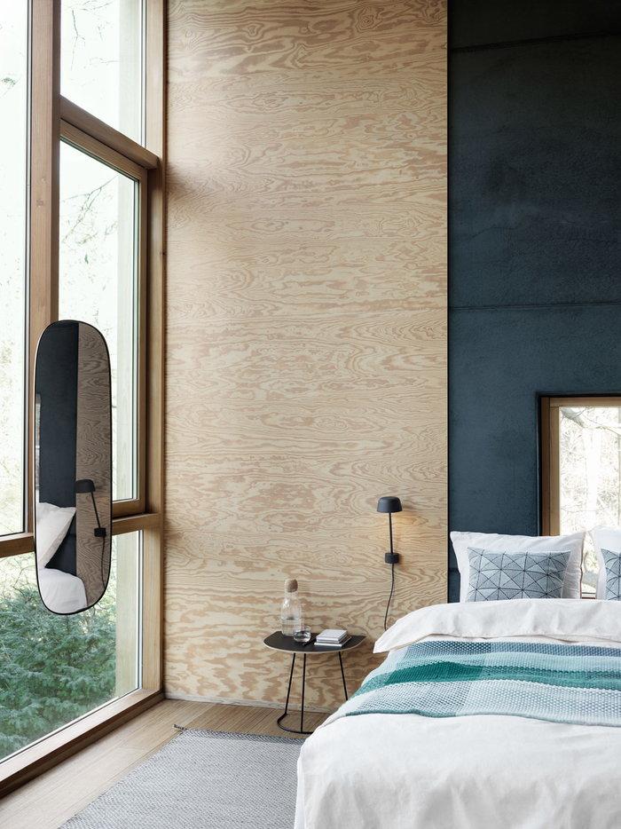 Makuuhuone Kesäkoti Muuto Musta Vihreä Ruskea Metalli Puuvilla Lasi Alumiini Airy Loom