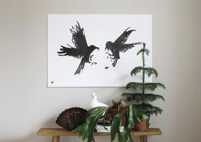 Viherkasvit Julisteet Teemu Järvi Illustrations Musta Paperi