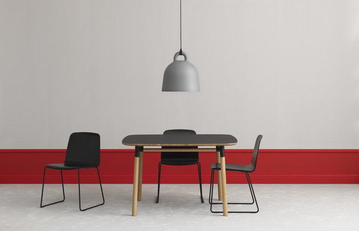 Diningroom Normann Copenhagen Grey Aluminium Bell