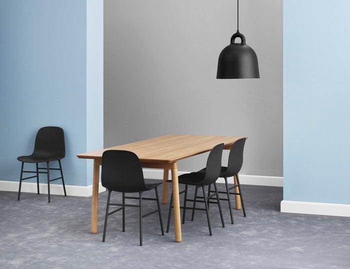 Diningroom Normann Copenhagen Black Aluminium Bell