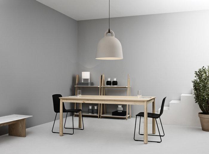 Salotti Saledapranzo Normann Copenhagen Beige Bianco Alluminio Frassino Bell