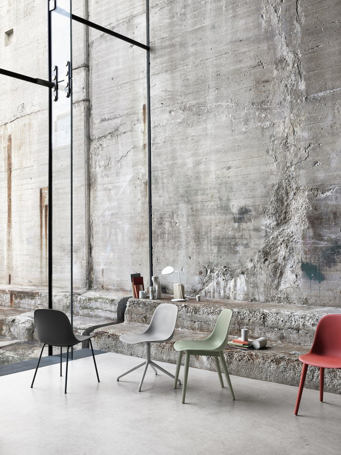 Livingroom Details Muuto White Aluminium Leaf