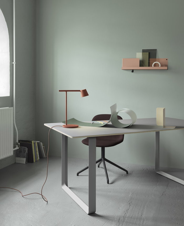Office Muuto Brown Green Aluminium Steel