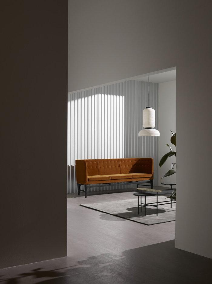 Livingroom &Tradition Grey White Black Paper Marble Mayor