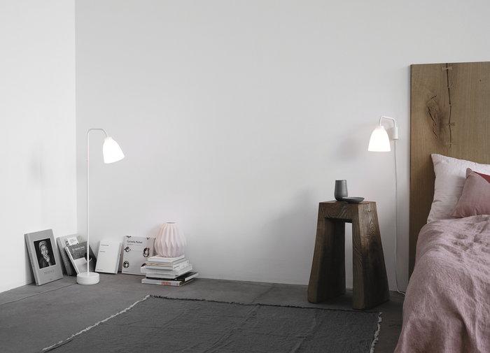 Makuuhuone Fritz Hansen Valkoinen Lasi Caravaggio