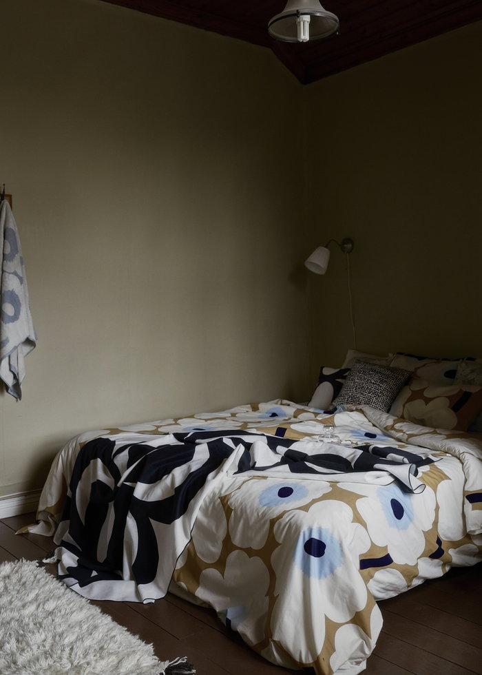 Makuuhuone Marimekko Monivärinen Puuvilla Unikko