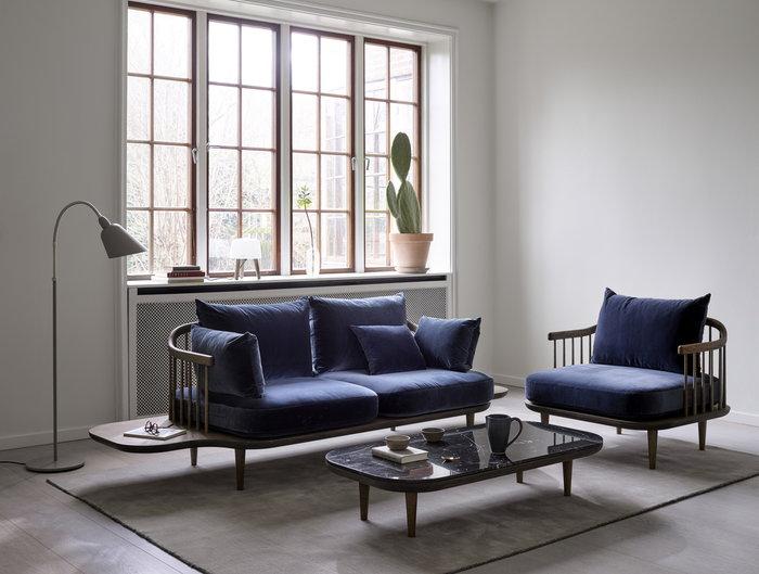 Livingroom &Tradition Nature Beige Black Blue Ash Metal Marble Oak Milk Fly