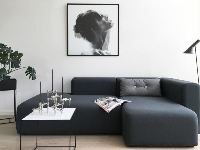 Viherkasvit Joulu Kynttilät Ferm Living STOFF Copenhagen Valkoinen Musta Kromi Tammi Metalli Twin Plant Box