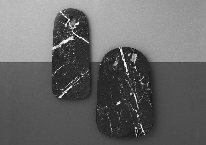Tablesetting Kitchen Normann Copenhagen Black Stainless Steel Marble
